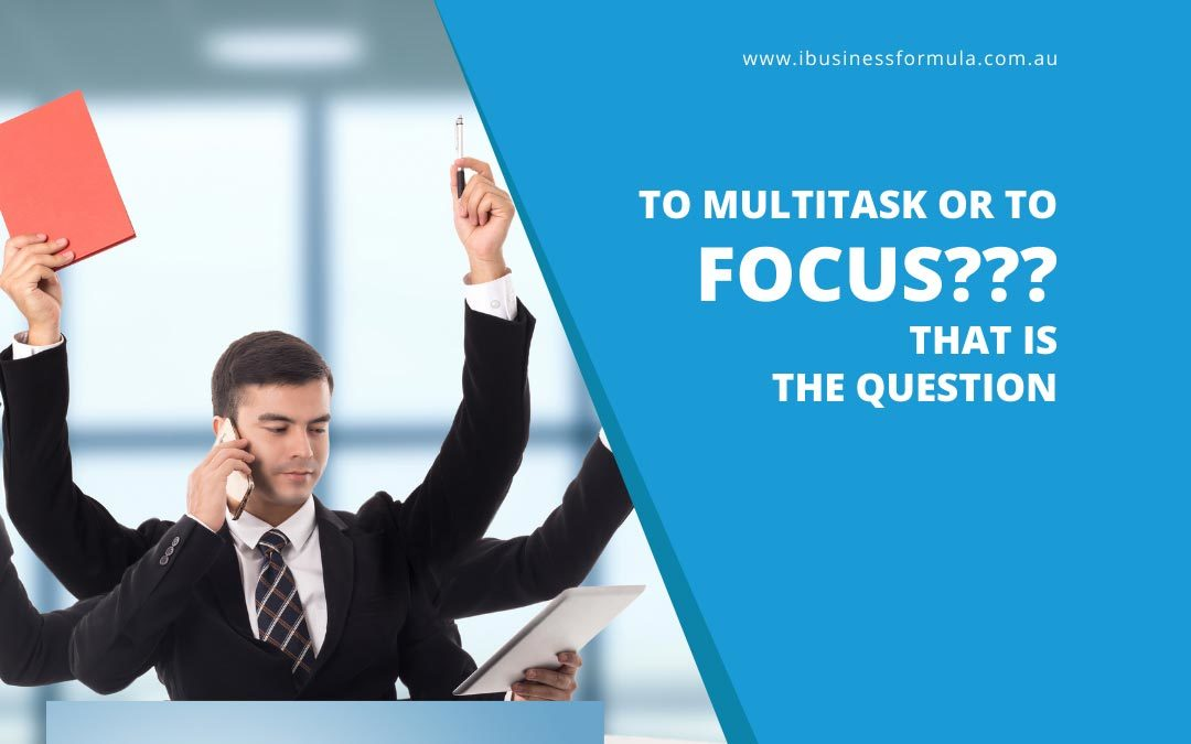 MULTITASKING – DOES IT REALLY HELP?